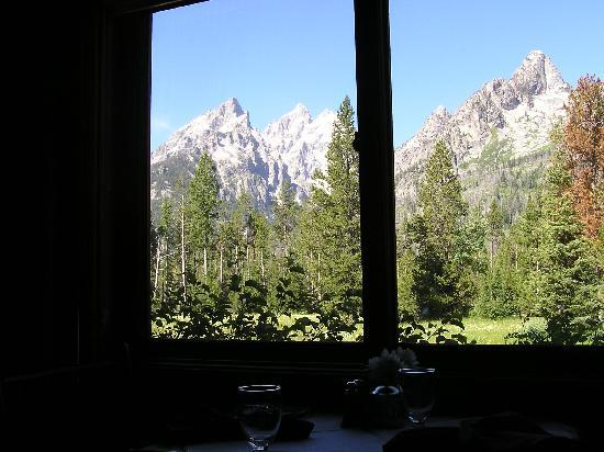 Jenny Lake Lodge: View From The Diningroom Part 80