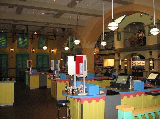 Disney S Caribbean Beach Resort Food Court