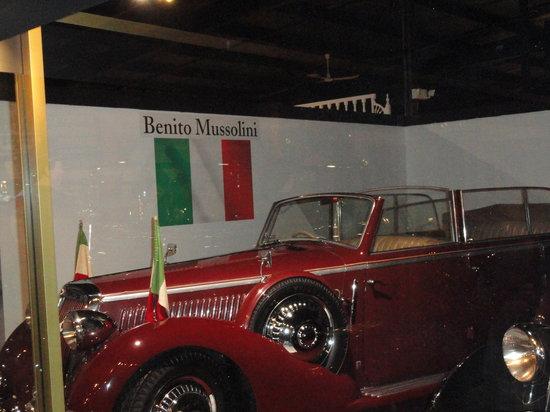 Roscoe, IL: Mussolini's Car