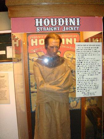 Historic Auto Museum: Houdini Straight Jacket