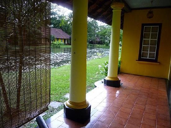 Vivanta by Taj - Kumarakom : Terrasse de la chambre