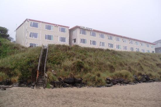 ‪‪Lincoln City‬, ‪Oregon‬: BeachView and Stairs‬