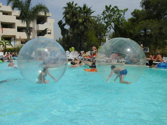 Festival Village: hamster ball Thursday