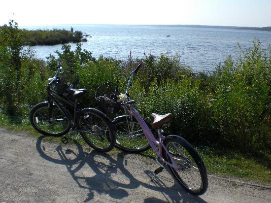 Cloghaun Bed and Breakfast: Biking around the island is one of our favorite's.