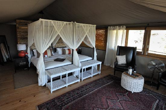 Wilderness Safaris Toka Leya Camp: Bedroom