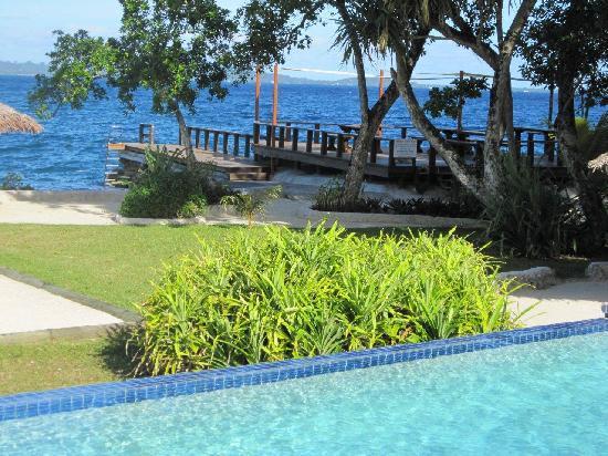 هايدواي أيلاند ريزورت: Pool View to Jetty