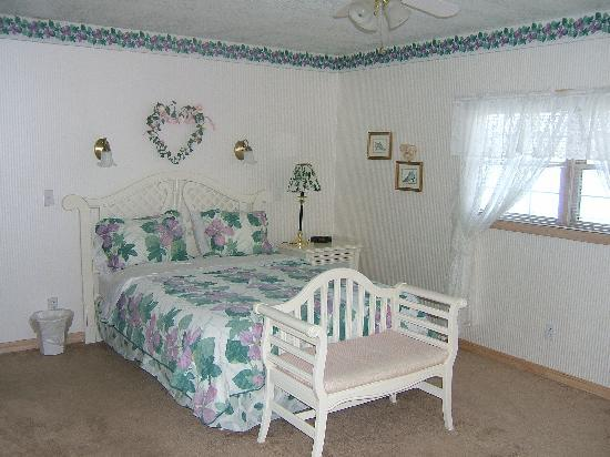 Horseshoe Bend, AR: Comfortable big bed in large master bedroom.