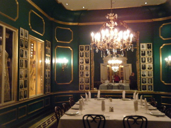 Antoine's : One of the many dining rooms.