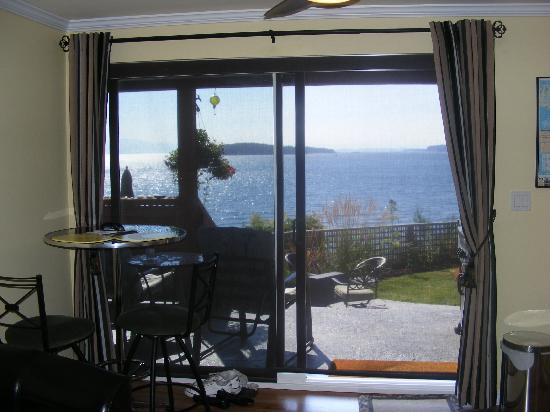 Beach Hideaway Bed and Breakfast & Spa: view from the room