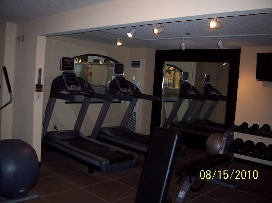 DoubleTree by Hilton Hotel Santa Ana - Orange County Airport: Fitness Center