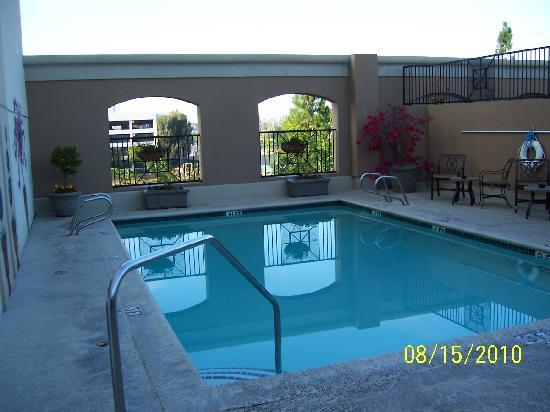 DoubleTree by Hilton Hotel Santa Ana - Orange County Airport: Pool Area - Second Floor