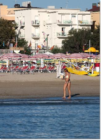 Hotel Rivazzurra Rimini Di Fronte al Mare