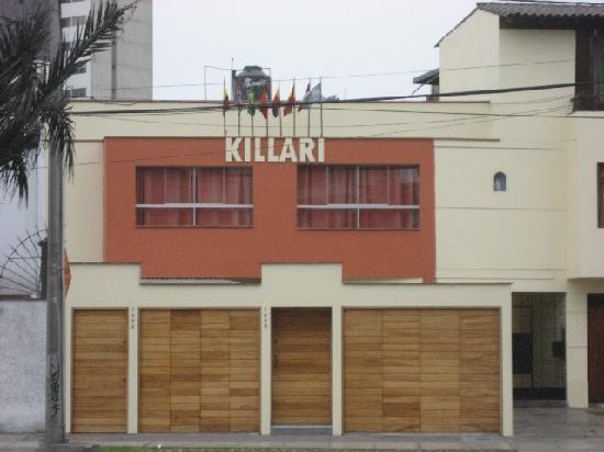 Hostal Killari von außen