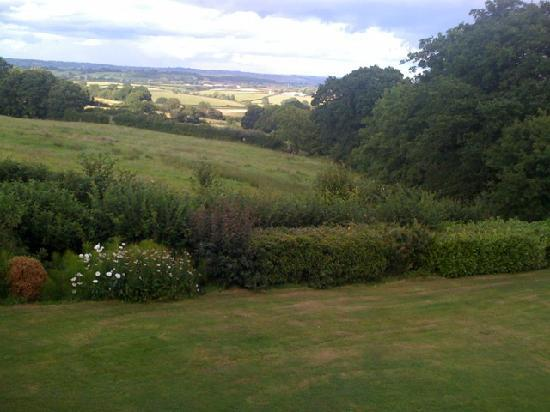 Bowes House: Fabulous view from my single room at the front of the house.