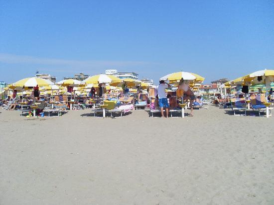 Hotel Garden Sea Caorle: Strand
