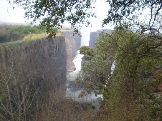 Victoria Falls, Zimbabwe: The Falls in September (view from the Zambia side)
