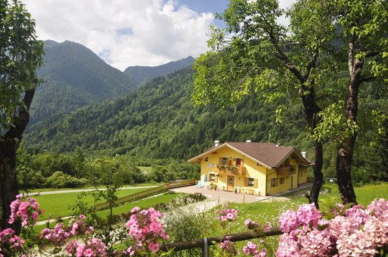 Canal San Bovo, Italy: Esterno Baita Oasi dall'alto