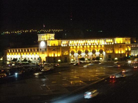 Armenia Marriott Hotel Yerevan: Yerevan, beautiful Republic Square