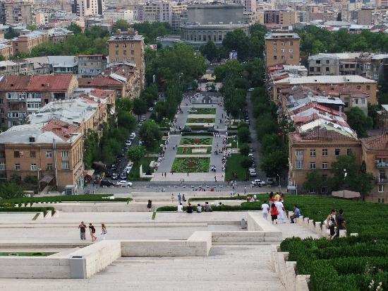Armenia Marriott Hotel Yerevan: Yerevan, Opera from Cascades