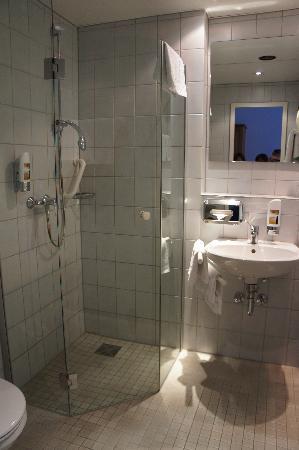 Hotel Krokodil: baño