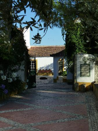 Quinta da Anunciada Velha : Einfahrt zum Innenhof der Quinta