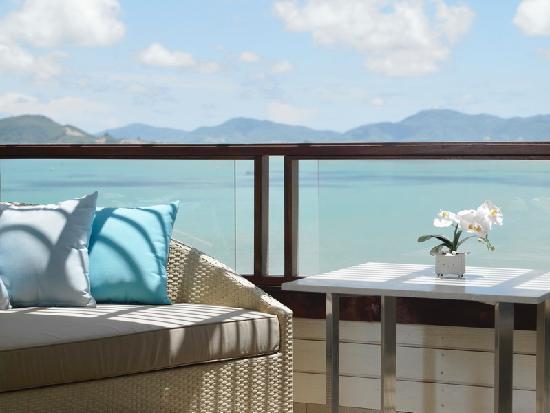 The Westin Siray Bay Resort & Spa Phuket : Balcony of Superior Sea View Room