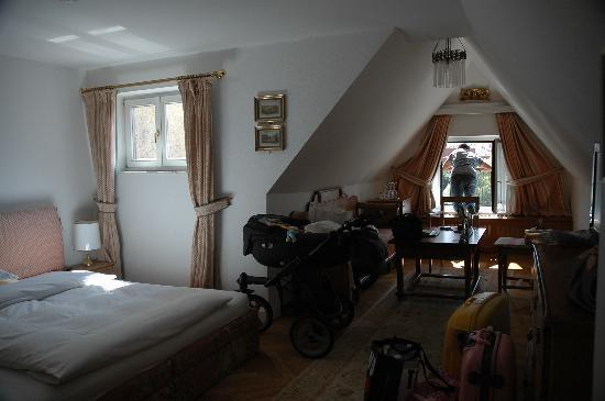 Schlossberg Hotel: la camera
