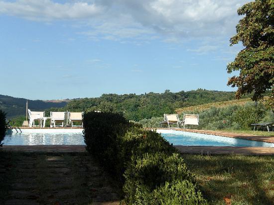 Fattoria Il Piano: het zwembad