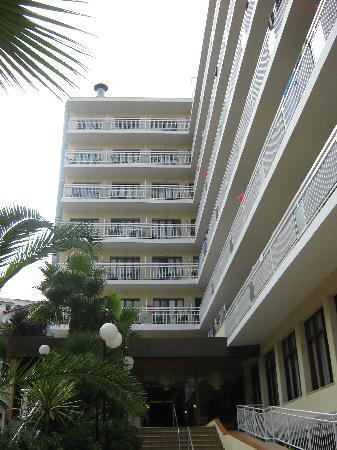 Blue Sea Montevista Hawai: Hoteleingang