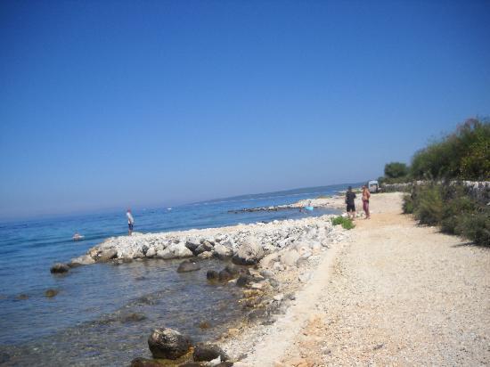Island of Pag, Kroasia: spiaggia di lun