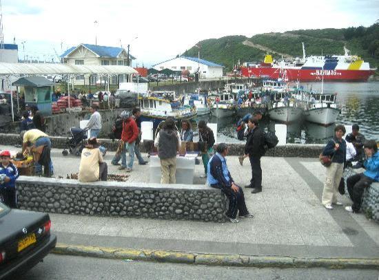 Puerto Montt, Chile: Der kleine Hafen St. Angelmo