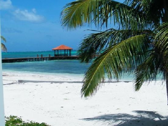 Grand Caribe Belize Resort and Condominiums : view of the pier