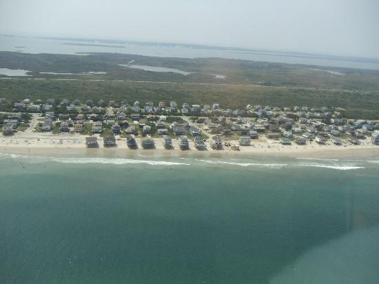 Coastal Helicopters: view from the helicopter