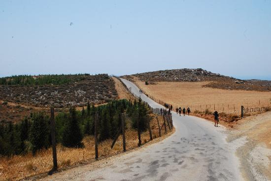 Plakias, Grécia: Hike to carpark