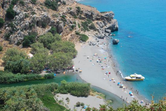Beach - Ferries to/from Plakias