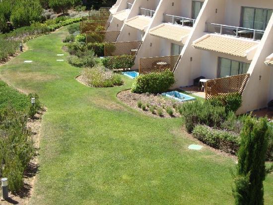 Grande Real Santa Eulália Resort & Hotel Spa : HABITACIONES CON VISTAS AL MAR