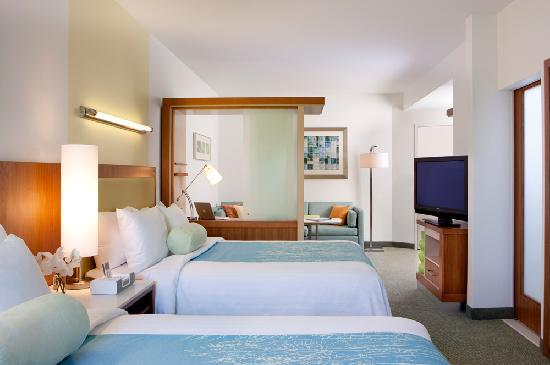 SpringHill Suites Orlando at SeaWorldR: SpringHill Suites Orlando at Seaworld Guest Room