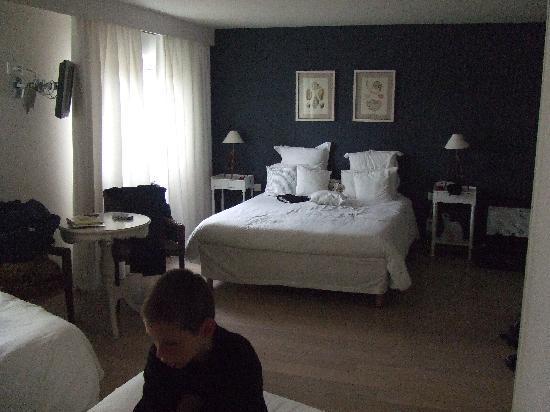 Hotel Restaurant des Isles: la chambre