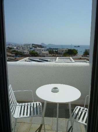 أنيمي هوتل: View from balcony, Hotel Anemi