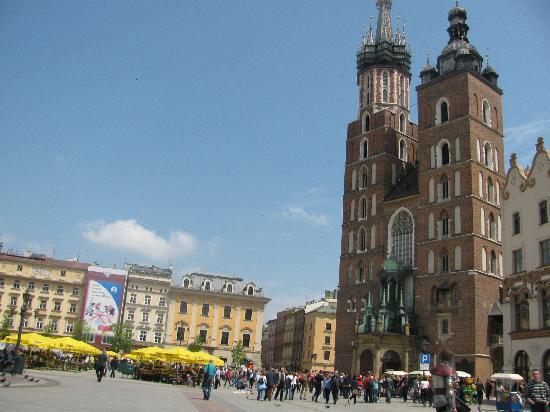 Krakow, Poland: st.Mary church