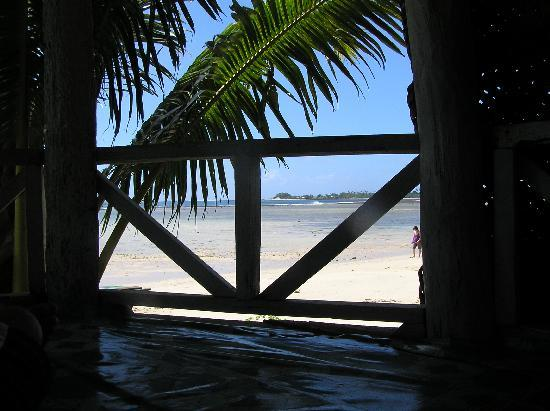 Tailua Beach Fales: The view from the fale
