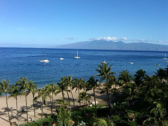 Kaanapali Alii: View from 10th Fl (Room 4102)