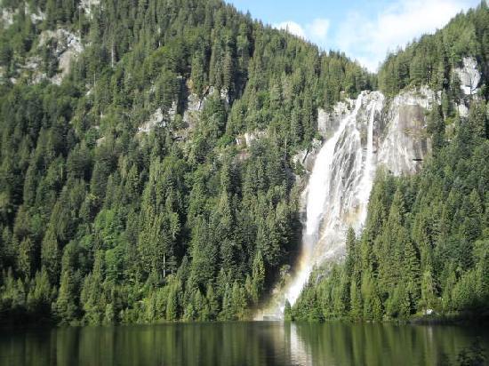 Valdaone, Италия: Vista della cascata del Leno