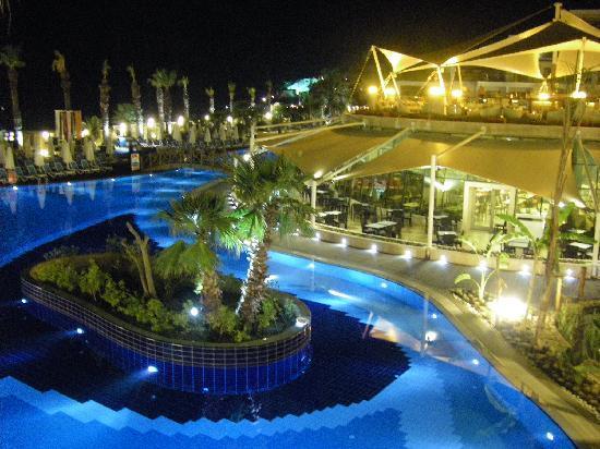 Paloma Pasha Resort : la vue de la chambre