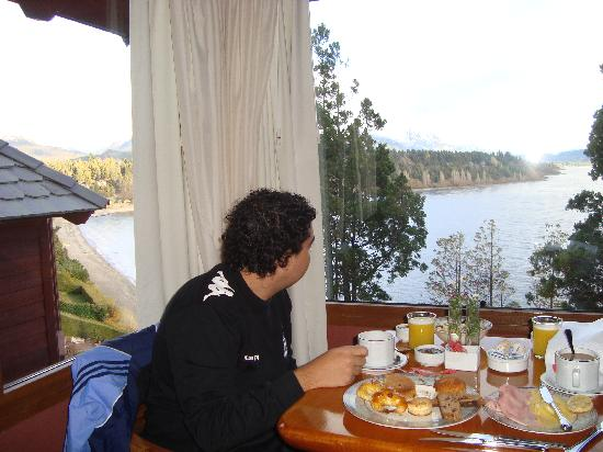 Charming Luxury Lodge & Private Spa : Desayuno desde la suite