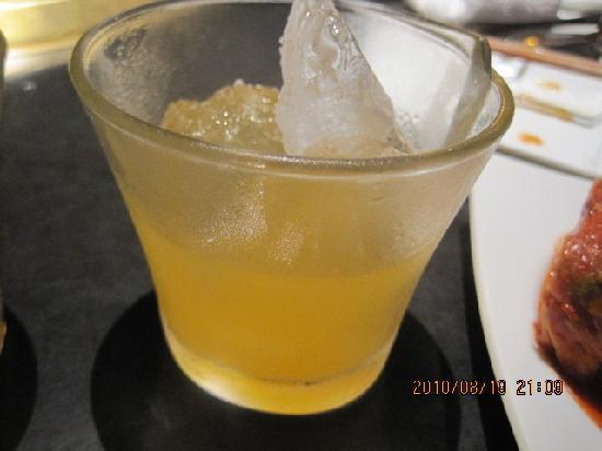 Korean Dining Koraibo: 鶯宿にごり梅酒
