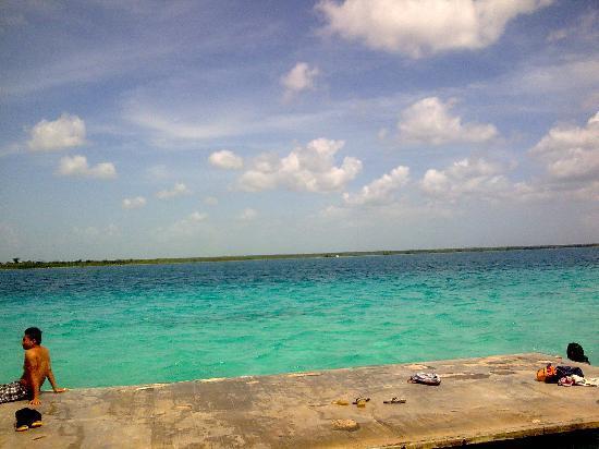 Laguna de Bacalar. Costa Maya. Quintana Roo. México