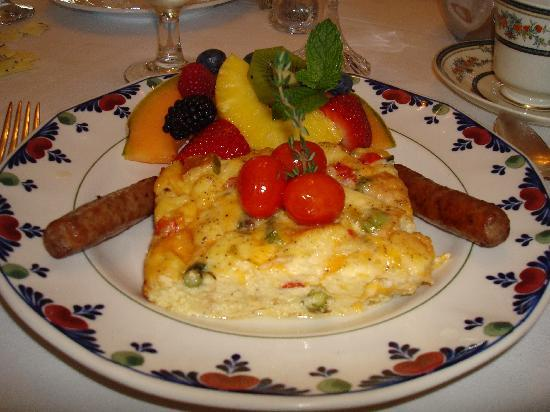 Middleton Inn: Wonderful breakfast prepared by Chef Jerry