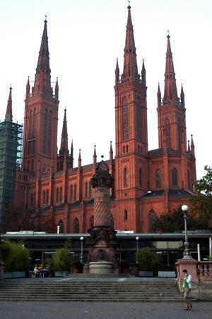 Walking Wiesbaden: Marketplace Church in Wiesbaden