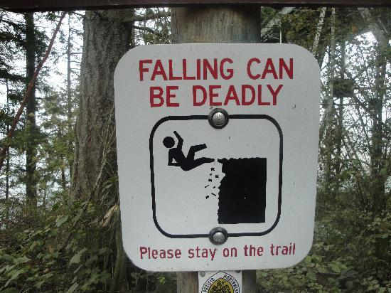 Oak Harbor, Waszyngton: I love funny signs!